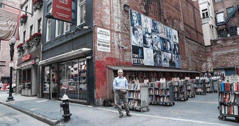 کتابفروشی قدیمی شهر بوستون