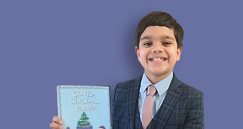 ظهور نویسندهی ۸ سالهی بریتانیایی