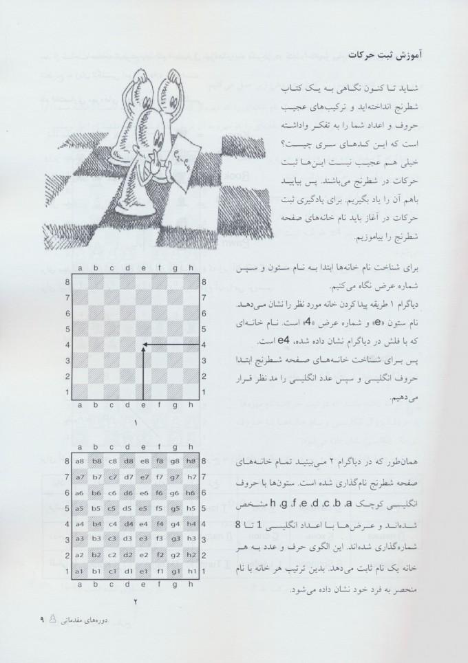 آموزش و درسنامه شطرنج (دوره های مقدماتی)