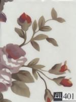 دفتریادداشت پارچه ای گلدار بی خط (کد 401)،(4طرح)