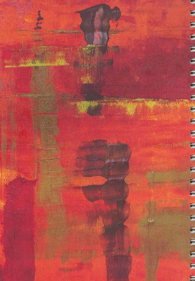 دفتر یادداشت سیمی خط دار (کد 231)