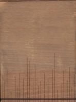 دفتر یادداشت بی خط چوبی (گردویی روشن)،(کشدار)