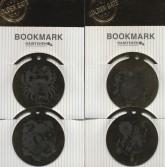 مجموعه نشانه کتاب ماه تولد 1 (بوک مارک،4طرح)،(4عددی،فلزی)