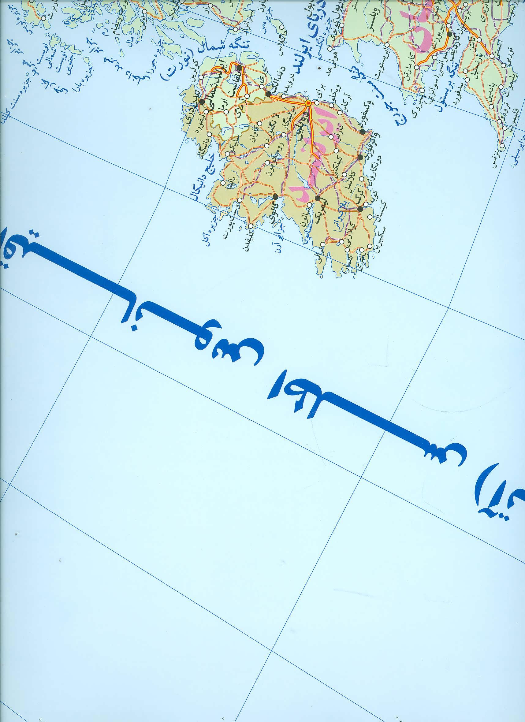 نقشه عمومی اروپا کد 351
