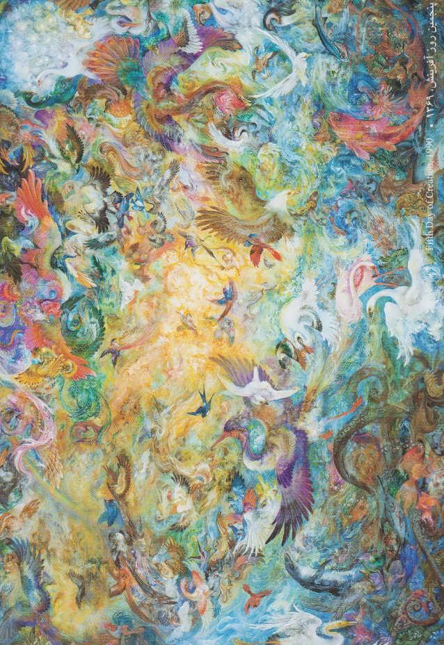 فال حافظ فرشچیان 2 (کارت)،(گلاسه،باجعبه)