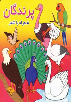 پرندگان (همراه با شعر)،(2زبانه،گلاسه)