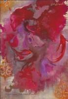 به آفرینش (مجموعه نقاشی های فرحناز پناه 3)،(گلاسه)
