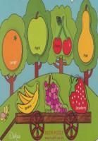 پازل چوبی (آشنایی با میوه ها)،(درخت،7 تکه)،(انگلیسی)