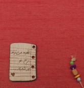 دفتر یادداشت پارچه ای ضخیم (پلاک دار)،(کد 715)