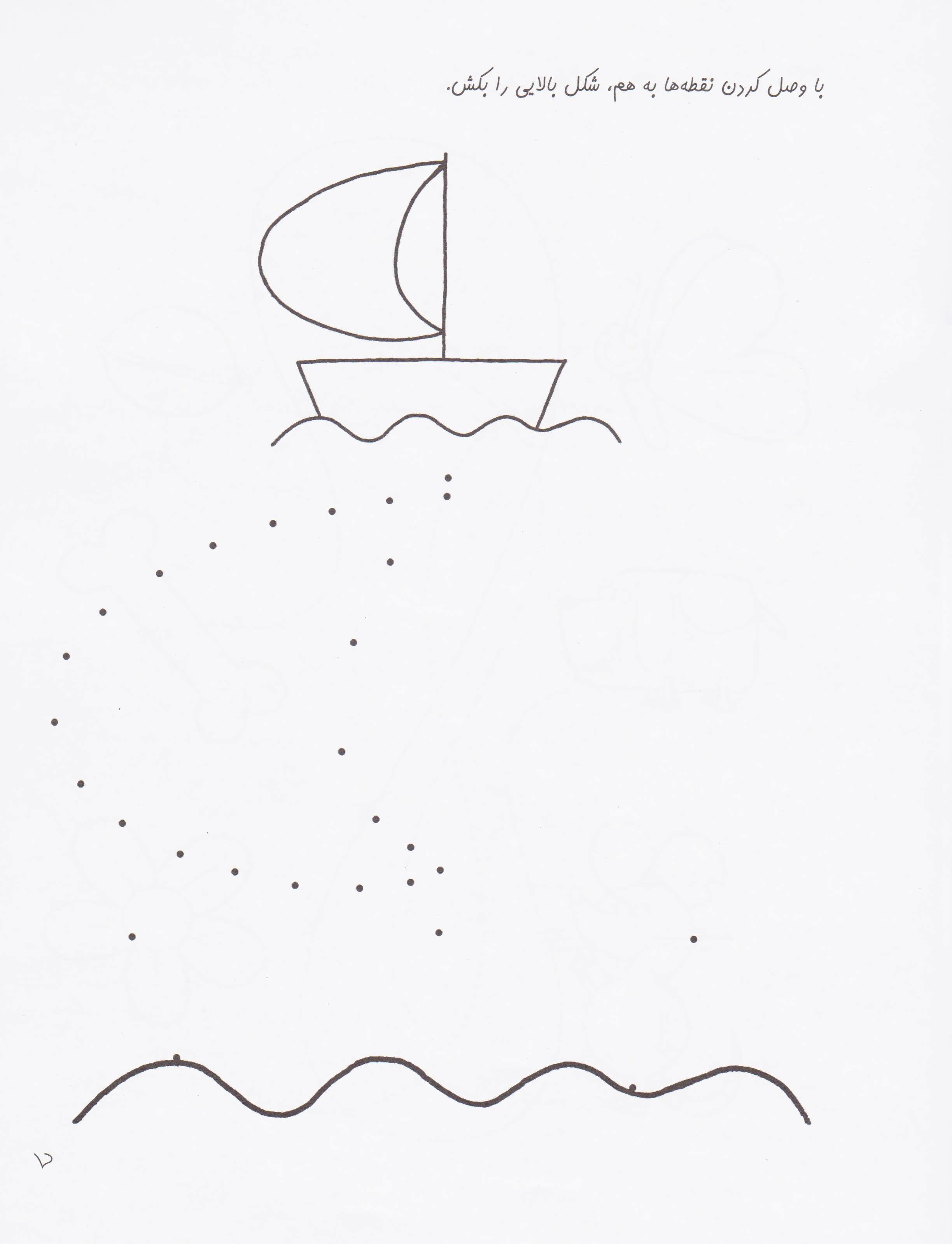 کتاب های پیش آمادگی15 (کودک و مفاهیم (نقطه،خط))،(واحد کار:نقطه و خط)