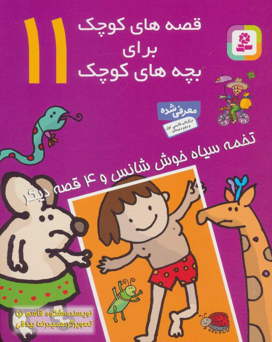 قصه های کوچک برای بچه های کوچک11 (تخمه سیاه خوش شانس و 4 قصه دیگر)