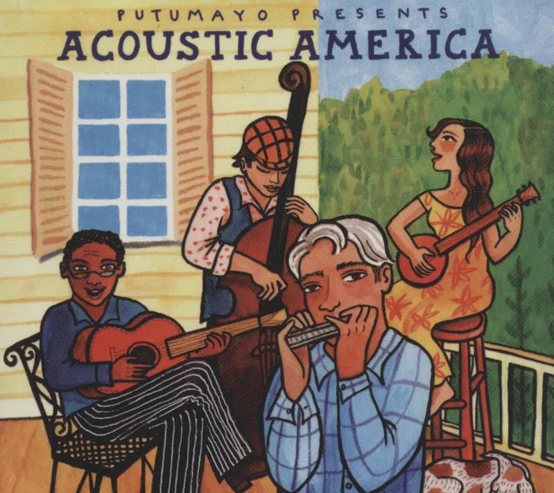 شنیدنی های آمریکا (Acoustic America)،(سی دی صوتی)،(باقاب)