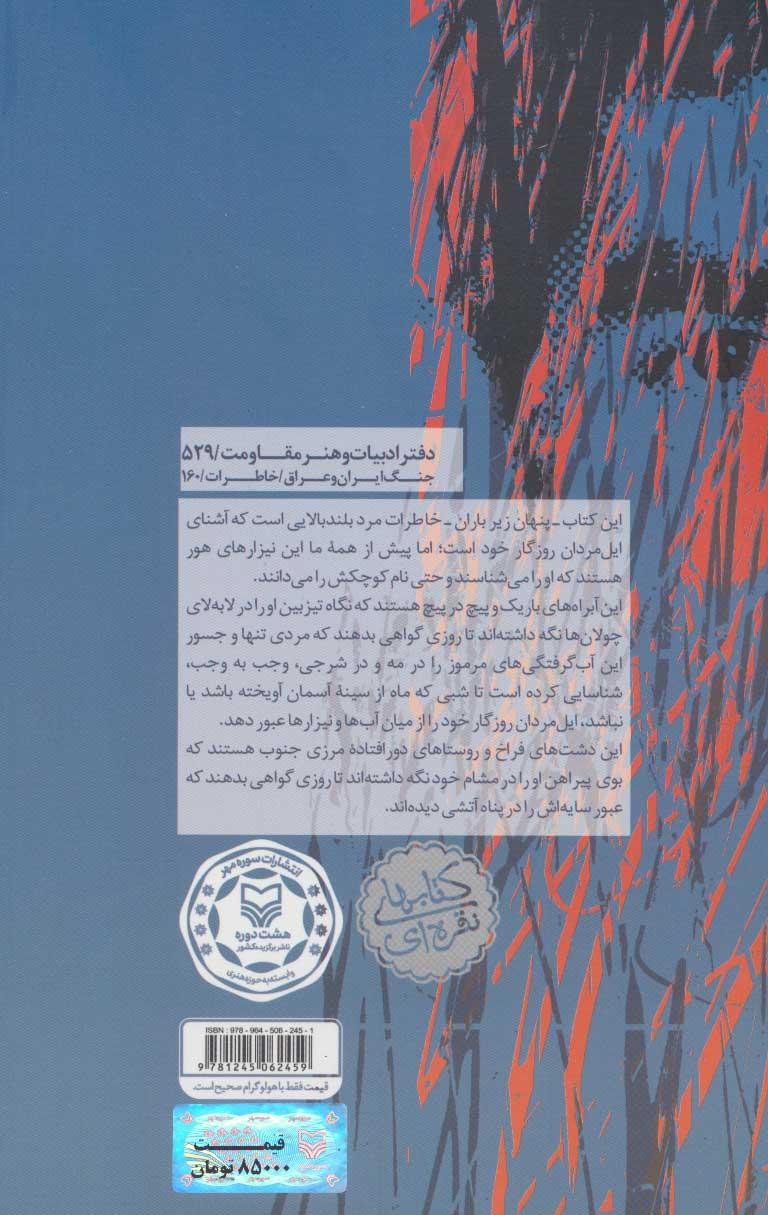 پنهان زیر باران (خاطرات سردار علی ناصری)