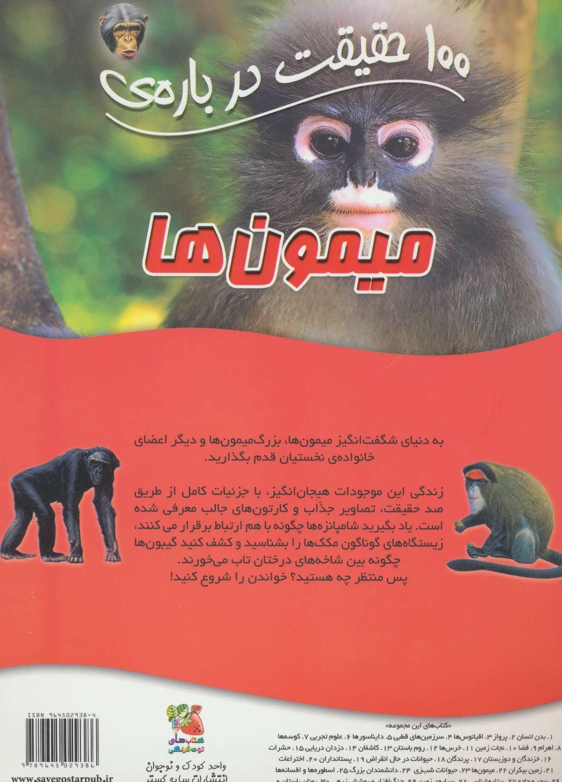 100 حقیقت22 (درباره ی میمون ها)،(گلاسه)
