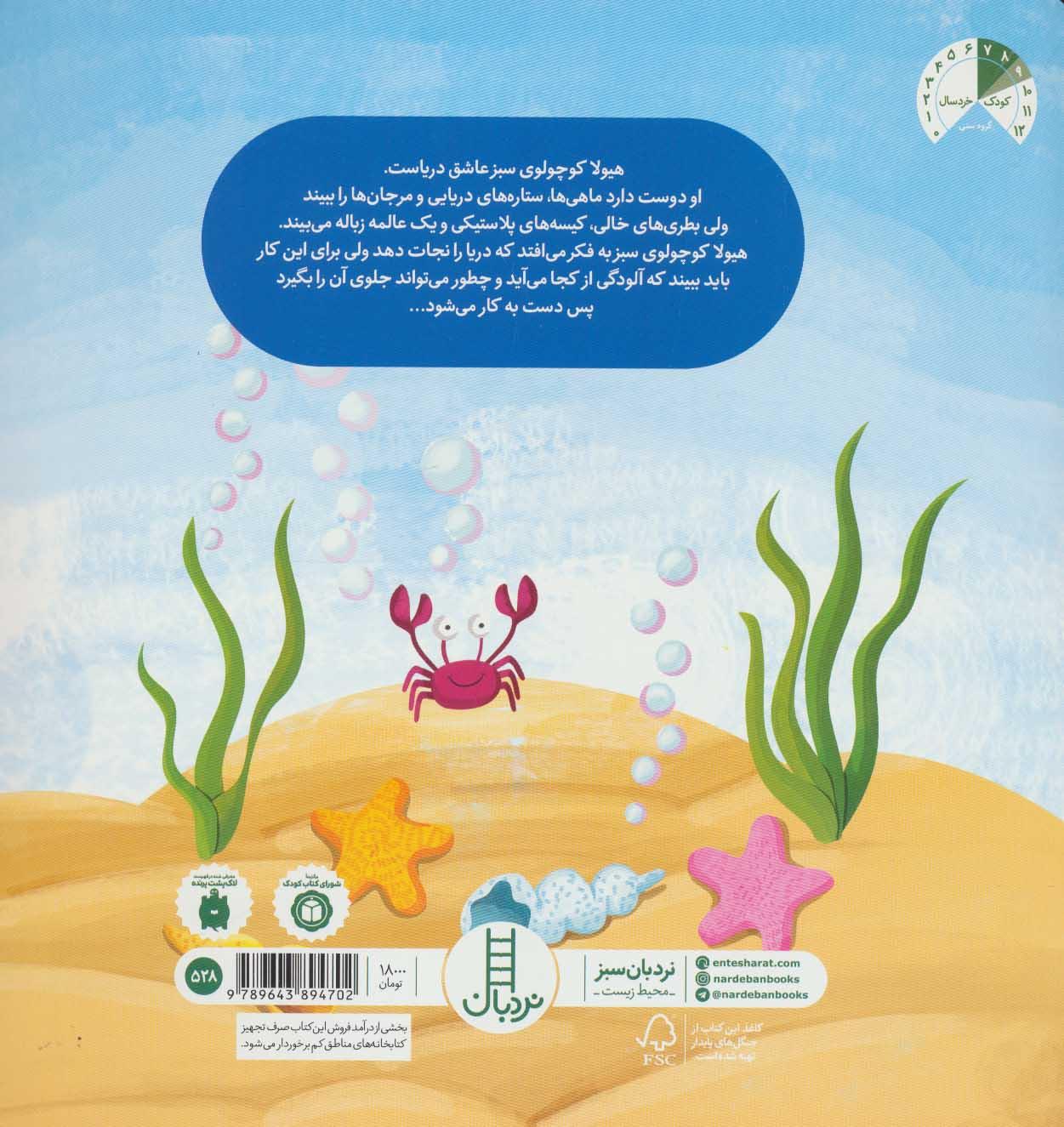هیولای سبز دریا را نجات می دهد! (گلاسه)