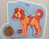 پازل چوبی (سگ)،(2 تکه)،(2زبانه)