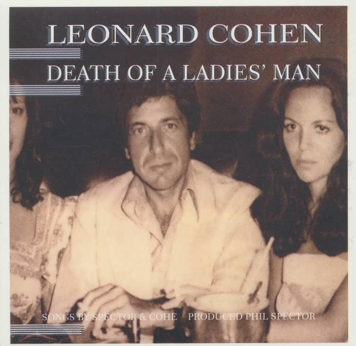 مرگ مرد خانم (Leonard Cohen،Death Of a Ladies Man)،(سی دی صوتی)،(باقاب)