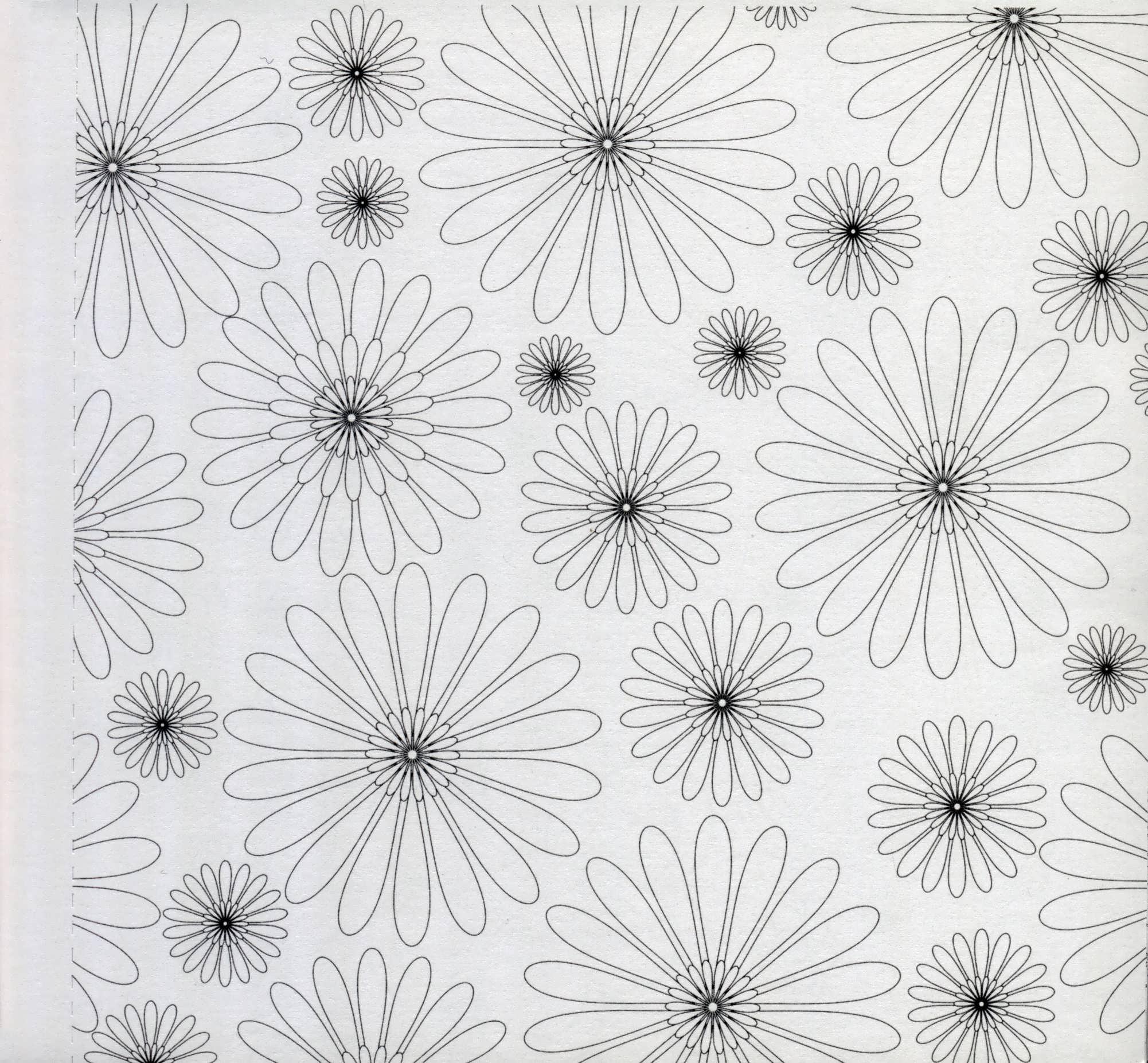 گلها (کتاب کوچک رنگ آمیزی بزرگسالان)