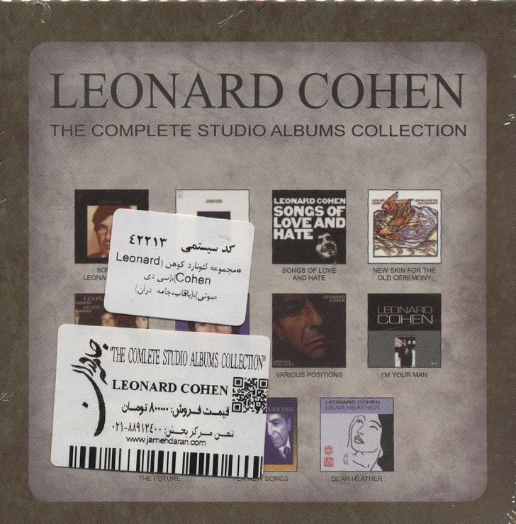 مجموعه لئونارد کوهن (Leonard Cohen)،(سی دی صوتی)،(باقاب)