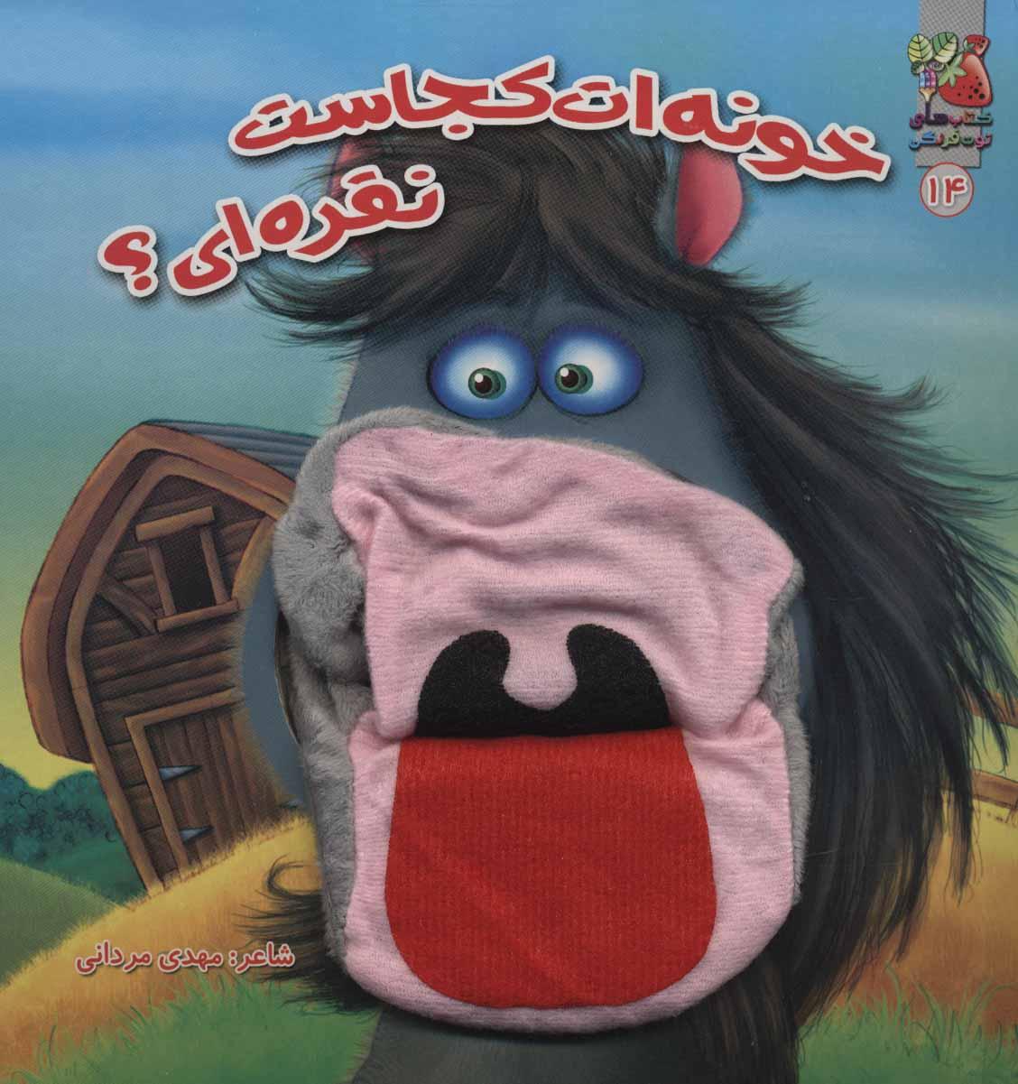 کتاب عروسکی14 (خونه ات کجاست نقره ای؟)،(گلاسه)