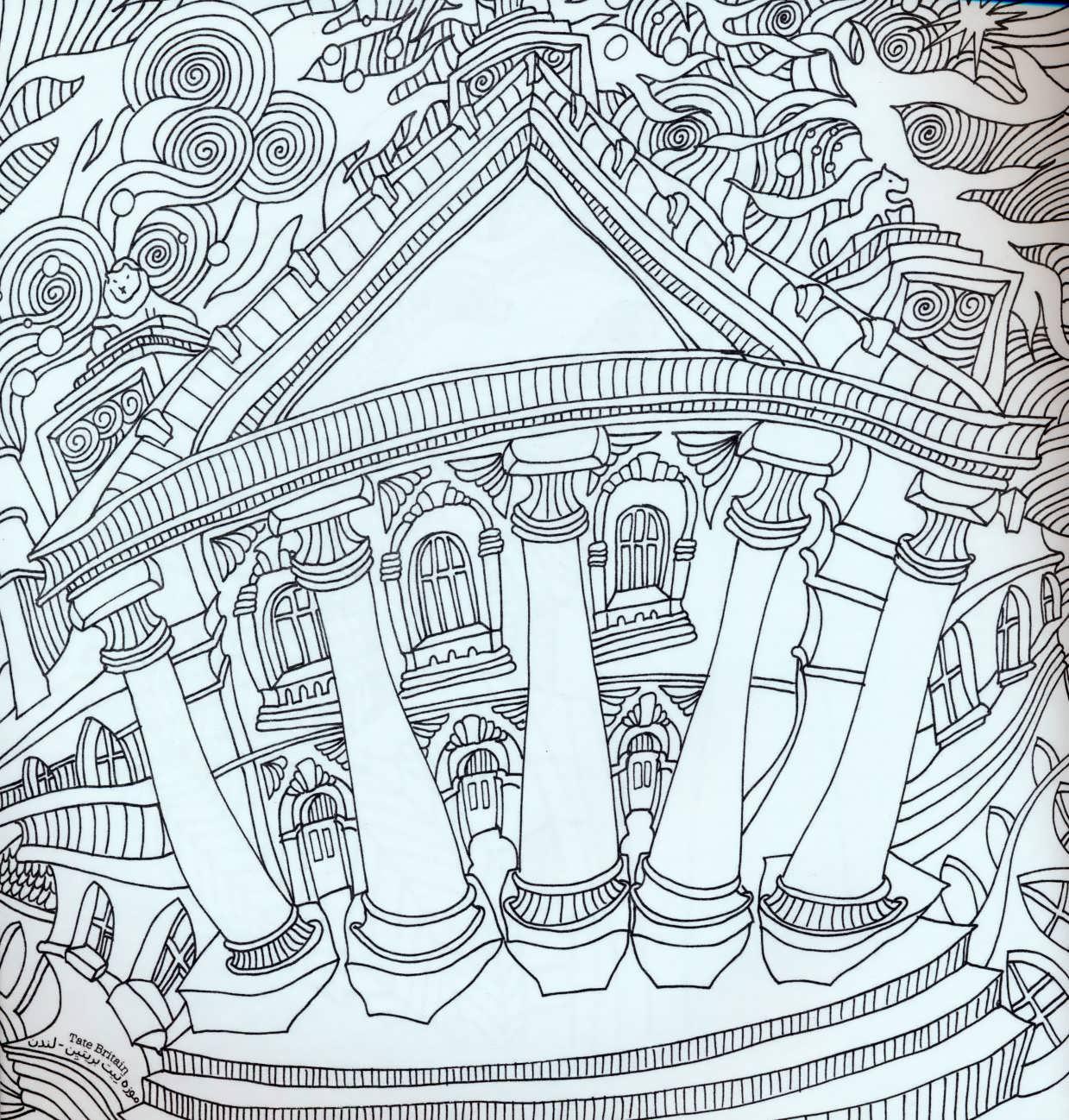 دنیای هنر خلاقیت12 (دیدنی های جهان:غلبه بر استرس با رنگ آمیزی)