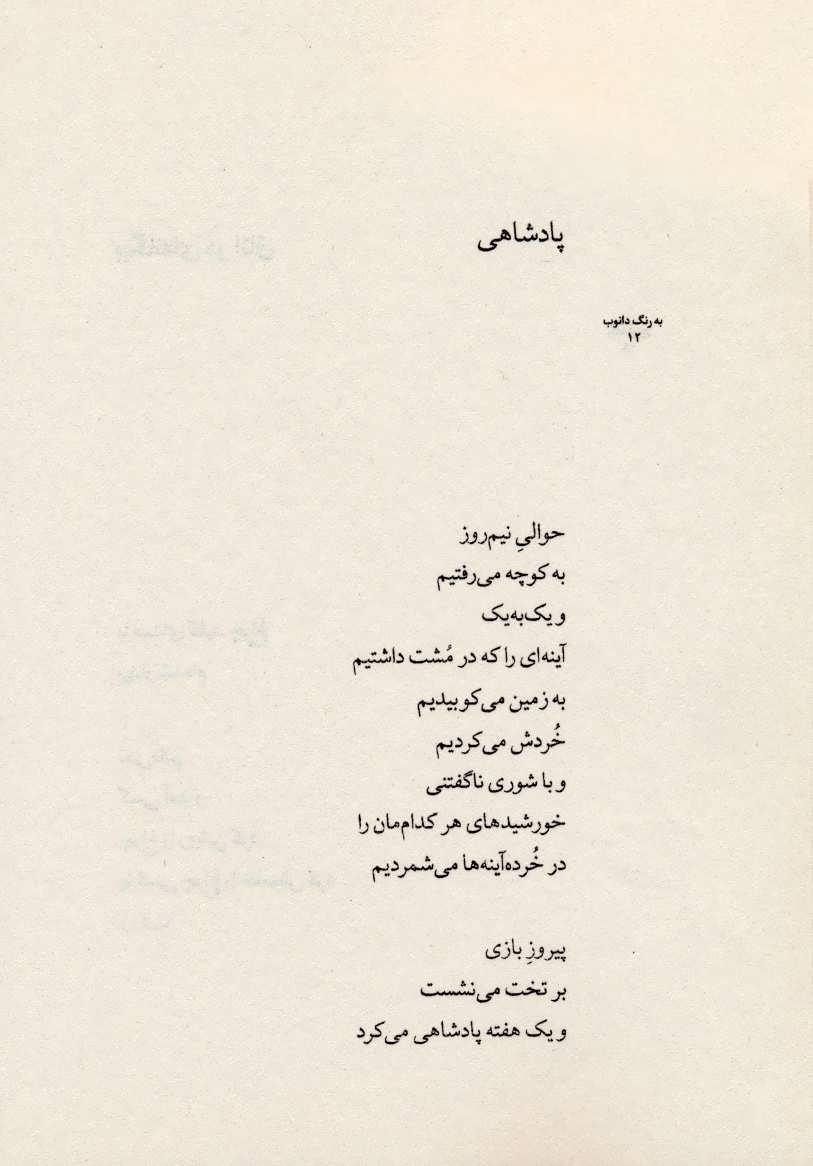 به رنگ دانوب:مجموعه شعر (جهان تازه ی شعر118)