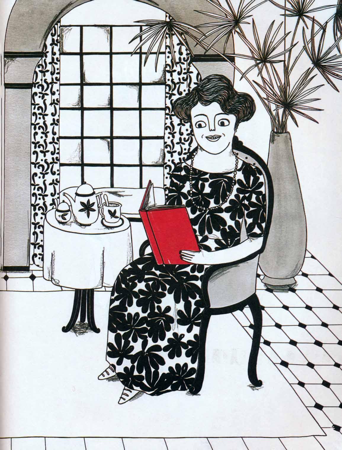 آگاتا کریستی (زنان کوچک رویاهای دور و دراز)