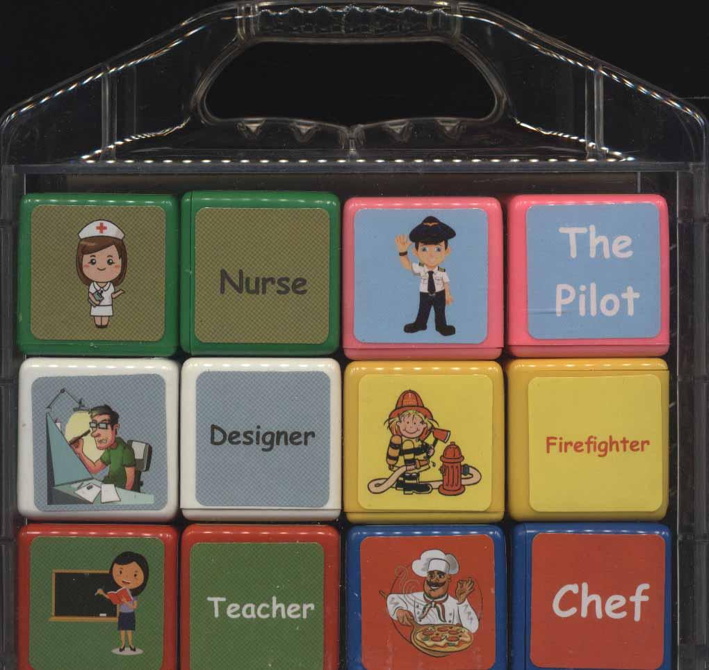 مکعب های رنگین کمان (انگلیسی مشاغل)