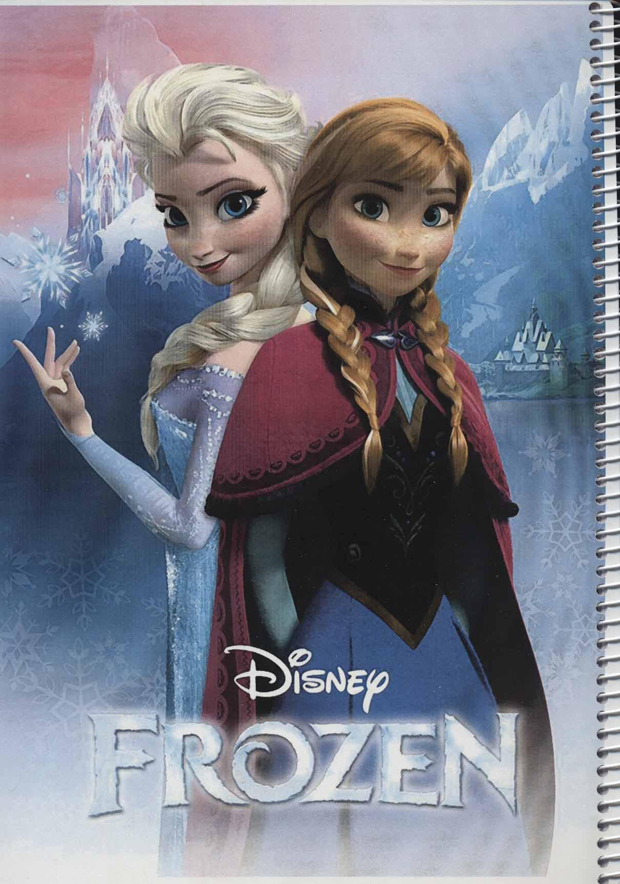 دفتر نقاشی السا و آنا (سیمی)