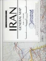 نقشه راههای ایران انگلیسی کد 1491 (گلاسه)