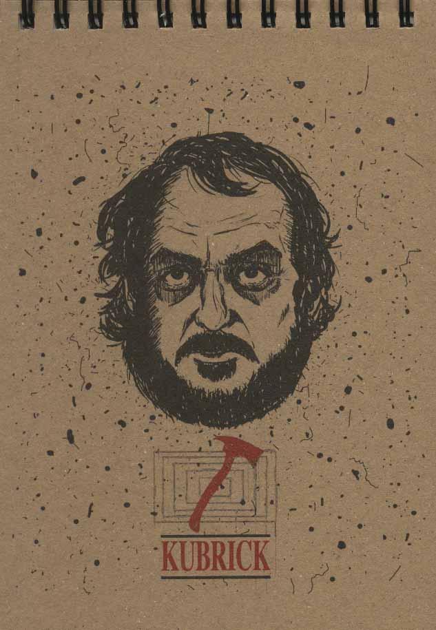 دفتر یادداشت خط دار (سینمایی:کوبریک)،(کد 8394)،(سیمی)