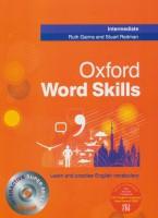 آکسفورد ورد اسکیلز (OXFORD WORD SKILLS،INTERMEDIATE)،همراه با سی دی (انگلیسی)