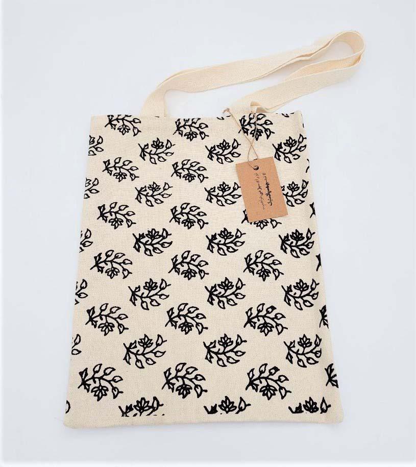 کیف پارچه ای کوچک 24*27 (گل بهاری،730)