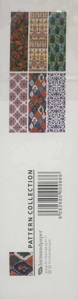 مجموعه نشانه کتاب (پترن:PATTERN COLLECTION)،(بوک مارک،6طرح)،(6عددی،گلاسه)