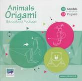 بسته آموزشی اوریگامی حیوانات (سطح متوسط)،(2زبانه،باجعبه)