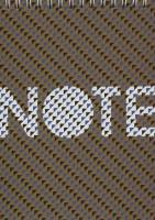دفتر یادداشت خط دار (طرح NOTE،کد 3)،(سیمی)