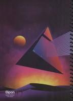 دفتر یادداشت خط دار فانتزی 200 برگ (6طرح،کد 249)،(سیمی)
