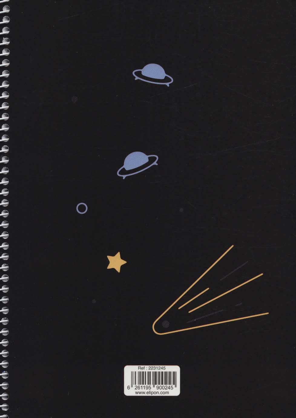 دفتر یادداشت خط دار فانتزی 60 برگ (6طرح،کد 223)،(سیمی)