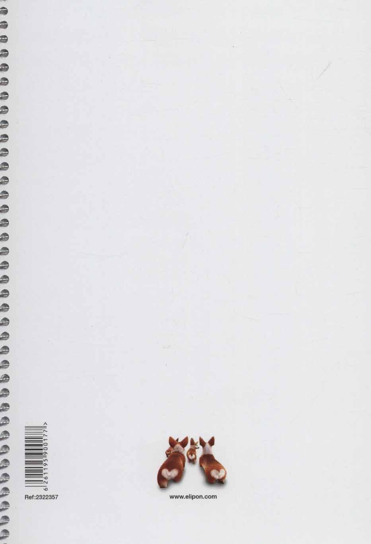 دفتر یادداشت خط دار کارتونی 80 برگ (6طرح،کد 232)،(سیمی)