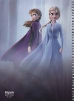 دفتر یادداشت خط دار کارتونی 40 برگ (6طرح،کد 213)،(سیمی)
