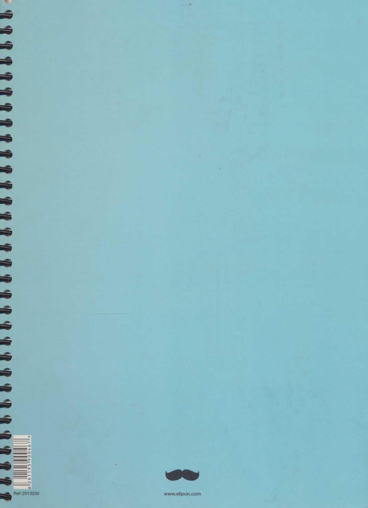 دفتر یادداشت خط دار فانتزی 200 برگ (3طرح،کد 251)،(سیمی)