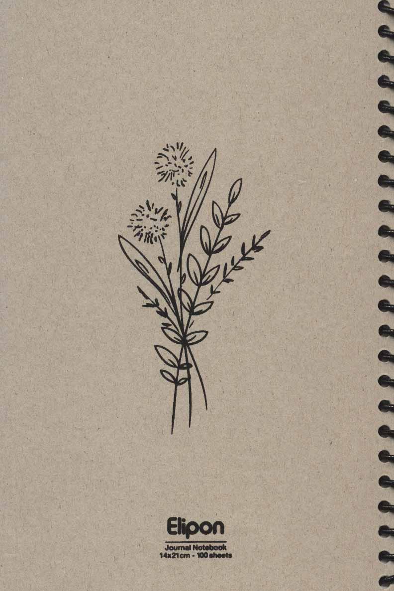 دفتر یادداشت بی خط فانتزی کرجی 100برگ (6طرح،کد 2756)،(سیمی)