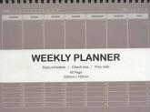 دفتر یادداشت خط دار برنامه ریزی هفتگی (کد 3146)،(سیمی)