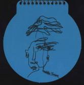 دفتر یادداشت خط دار کوچک دایره (5طرح)،(سیمی)