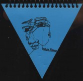 دفتر یادداشت بی خط کوچک مثلث (3طرح)،(سیمی)