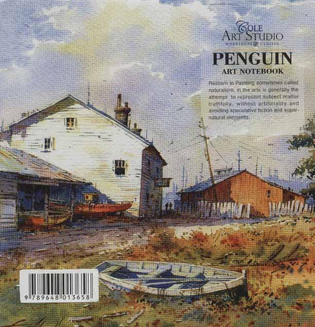 دفتر یادداشت ترکیبی پنگوئن:خط دار،بی خط،نقطه ای (کد658)
