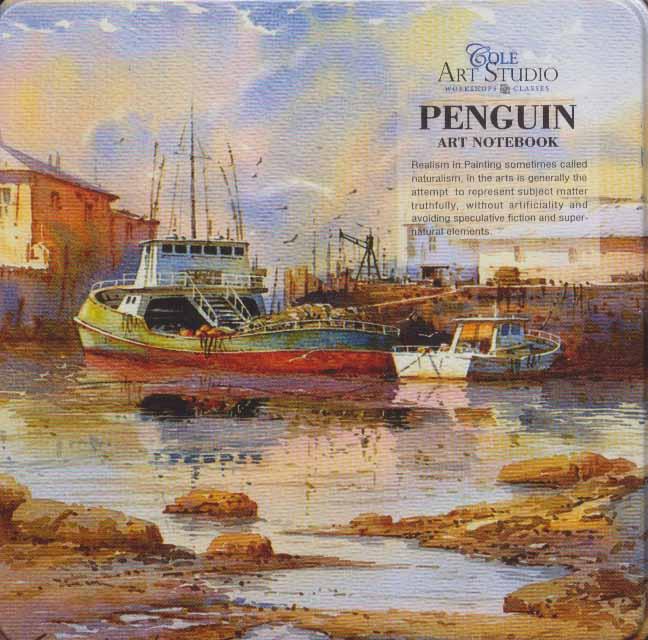 دفتر یادداشت ترکیبی پنگوئن:خط دار،بی خط،نقطه ای (کد634)
