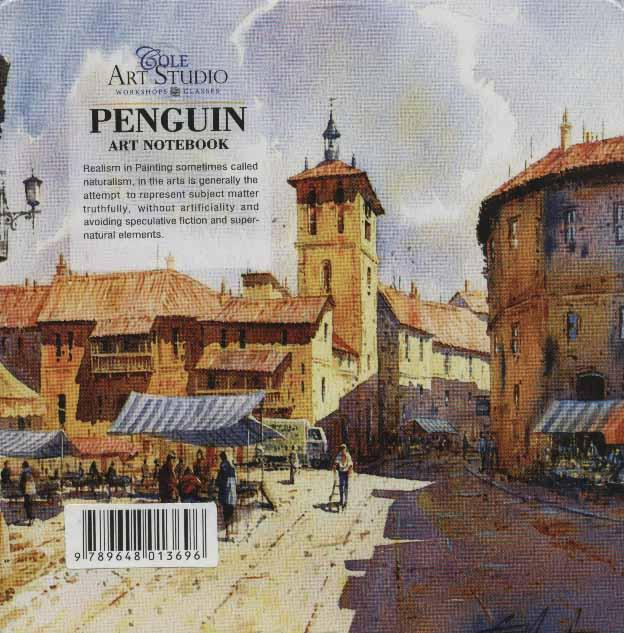 دفتر یادداشت ترکیبی پنگوئن:خط دار،بی خط،نقطه ای (کد696)