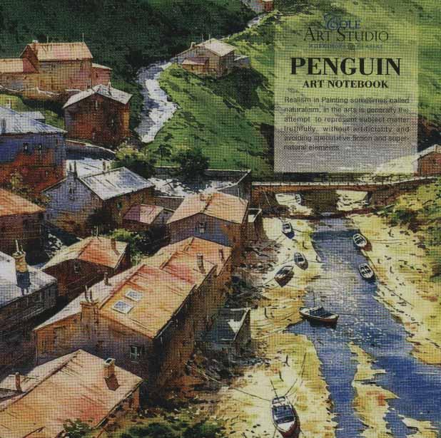 دفتر یادداشت ترکیبی پنگوئن:خط دار،بی خط،نقطه ای (کد672)