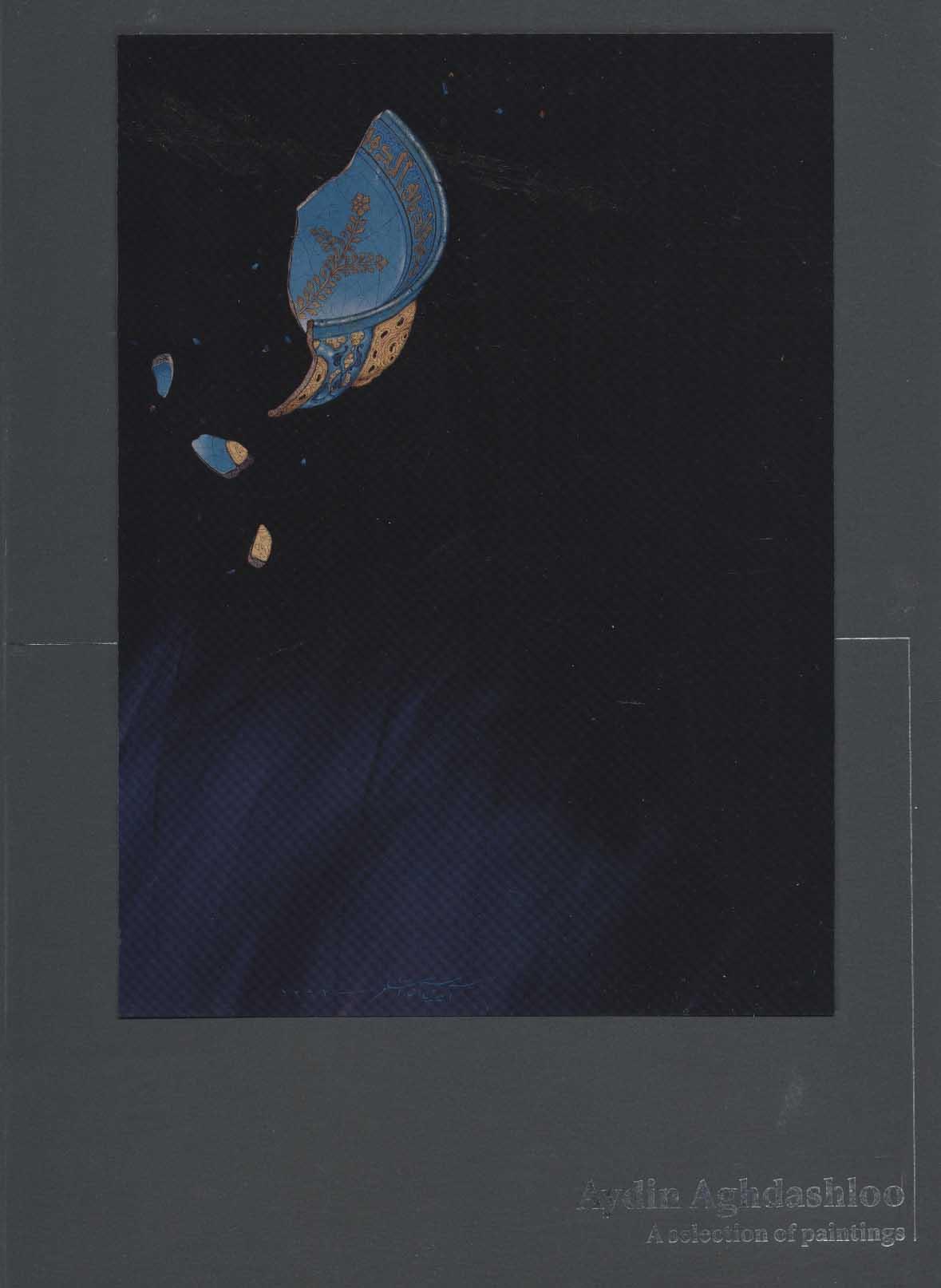 برگزیده نقاشی ها (آیدین آغداشلو)،(2زبانه،گلاسه)